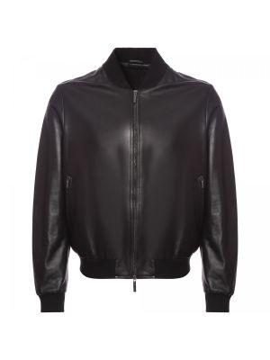 Текстильная кожаная куртка Moreschi