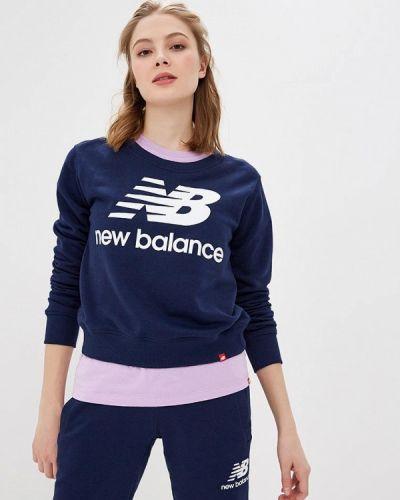 Синяя толстовка New Balance