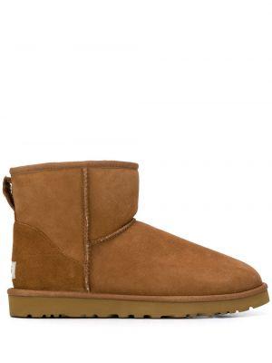 Brązowe ankle boots zamszowe Ugg Australia