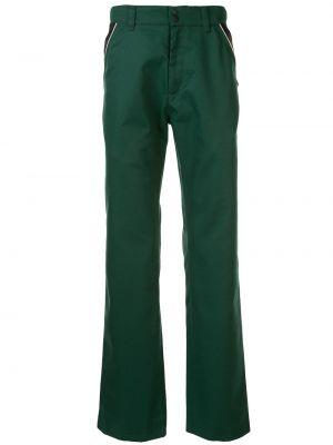 Прямые брюки на пуговицах с карманами новогодние Affix