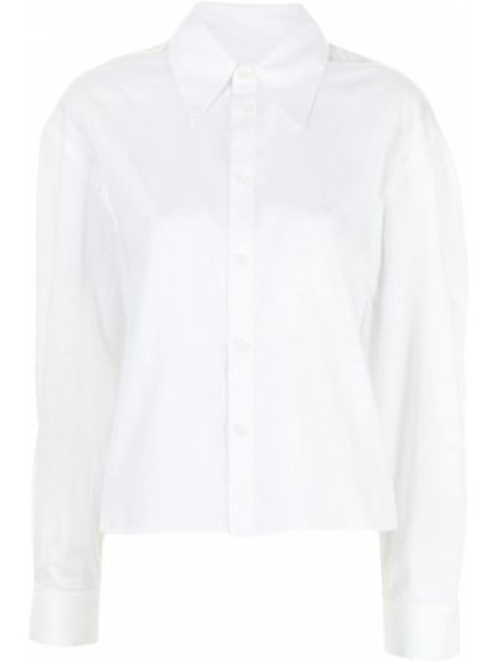 Biała koszula zapinane na guziki Tibi