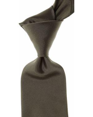 Zielony krawat z jedwabiu Christian Lacroix