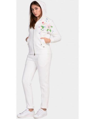 Белый спортивный костюм O&j