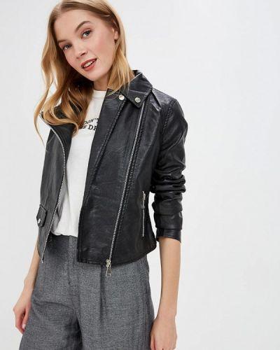 Кожаная куртка - черная Macleria