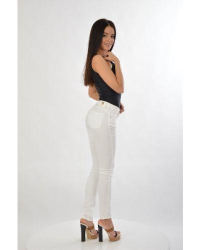 Хлопковые брюки - белые Roccobarocco