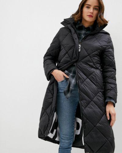 Теплая черная куртка Ice Play