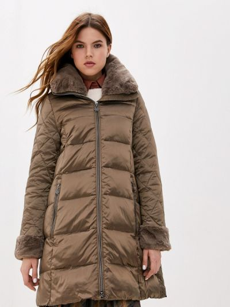 Зимняя куртка осенняя коричневая Gerry Weber