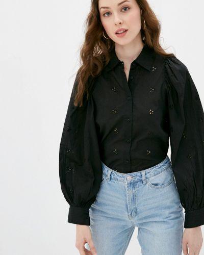 Черная блузка с длинными рукавами Ovs
