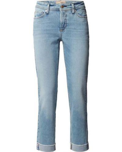 Niebieskie jeansy bawełniane Cambio