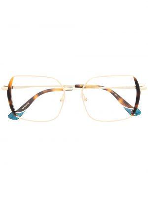 Желтые очки оверсайз металлические Etnia Barcelona