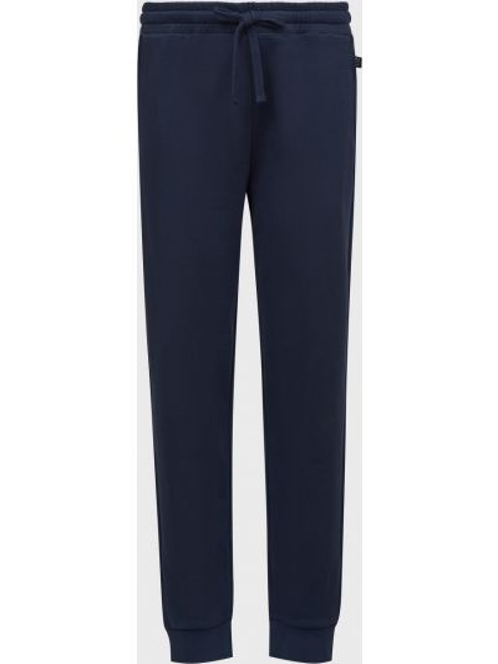 Хлопковые спортивные брюки - синие Lab. Pal Zileri