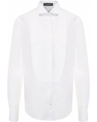 Рубашка хлопковая на пуговицах Dolce & Gabbana