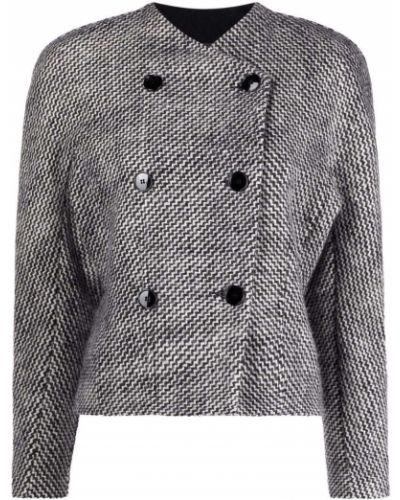 Черный пиджак на пуговицах Isabel Marant