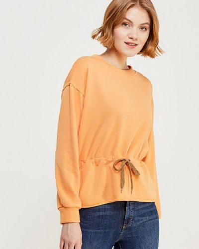 Оранжевый свитшот Vero Moda