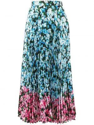 Плиссированная юбка миди с завышенной талией Mary Katrantzou