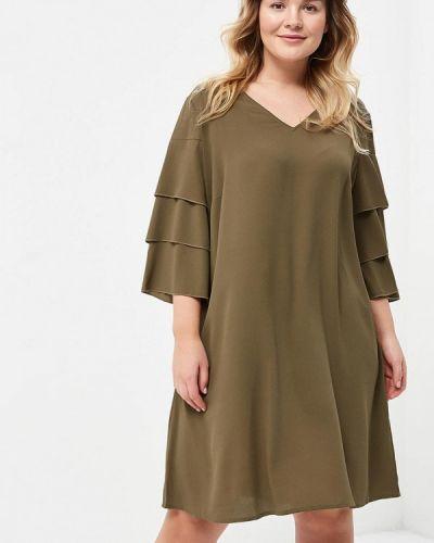 Платье весеннее хаки Junarose