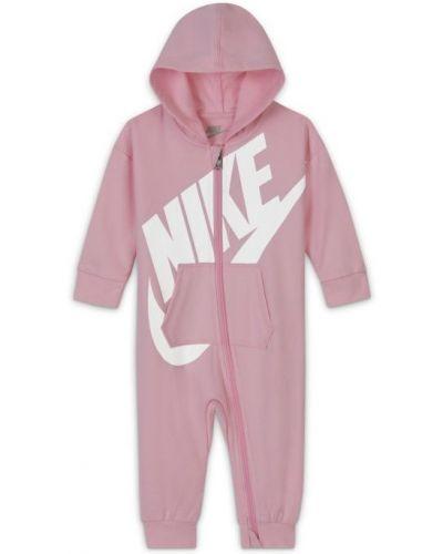 Różowy kombinezon Nike