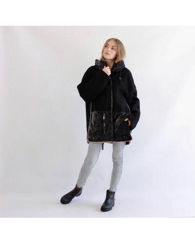Куртка оверсайз - черная Rozetka