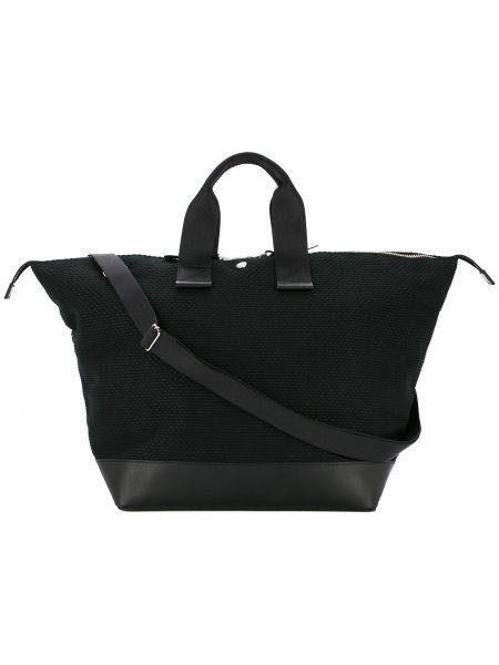 Черная нейлоновая сумка Cabas