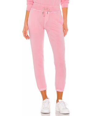 Różowe joggery bawełniane Nsf