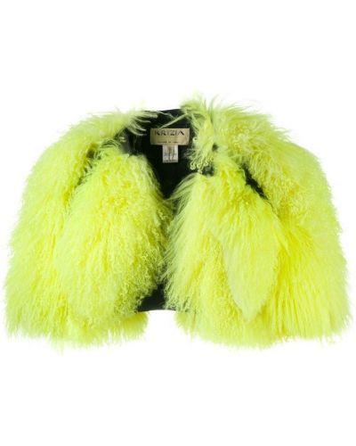 Желтая куртка Krizia Pre-owned