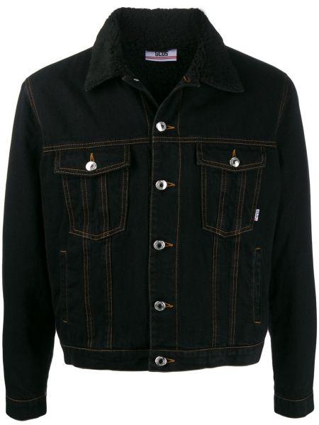Klasyczne czarne jeansy bawełniane Gcds
