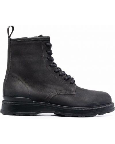 Черные резиновые ботинки Woolrich