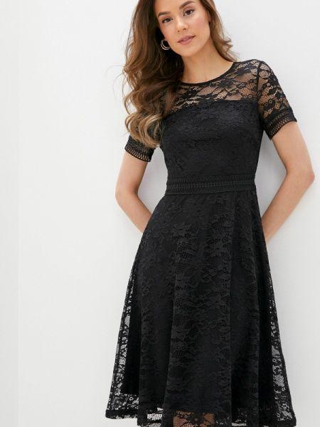 Вечернее платье черное весеннее Concept Club