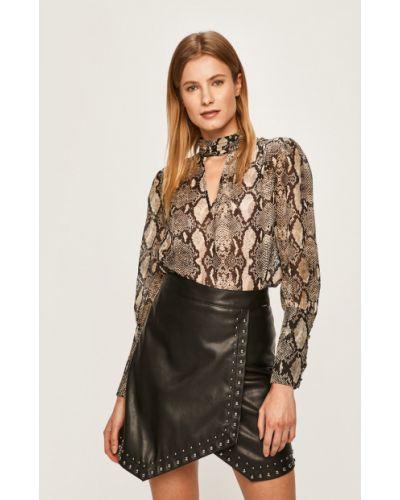 Блузка шелковая с V-образным вырезом Marciano Guess