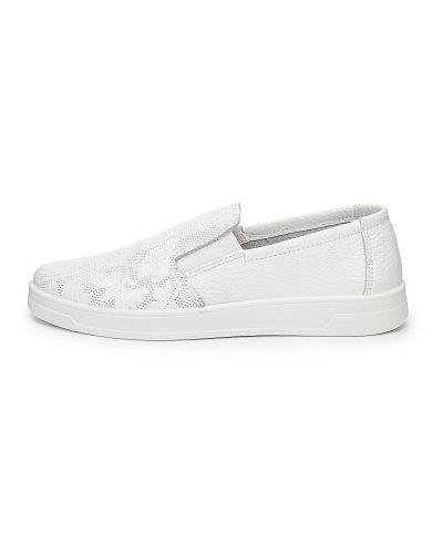 Белые полуботинки Zenden