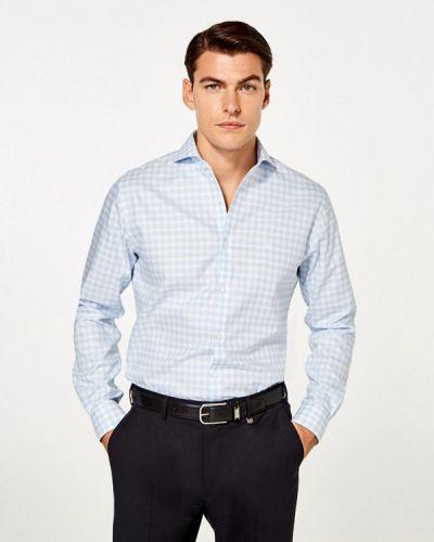 Голубая рубашка Pedro Del Hierro