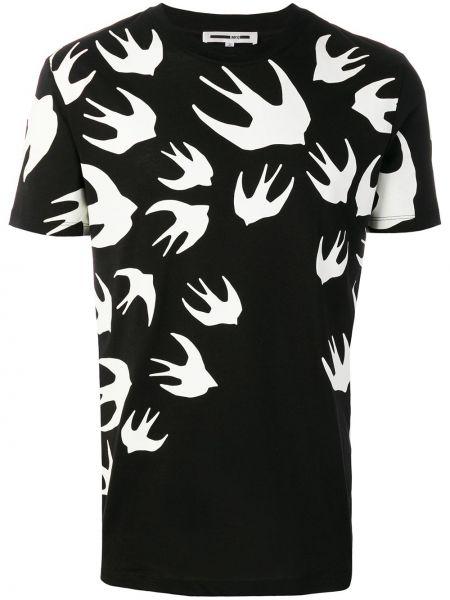 Koszula krótkie z krótkim rękawem lato z cięciem Mcq Alexander Mcqueen