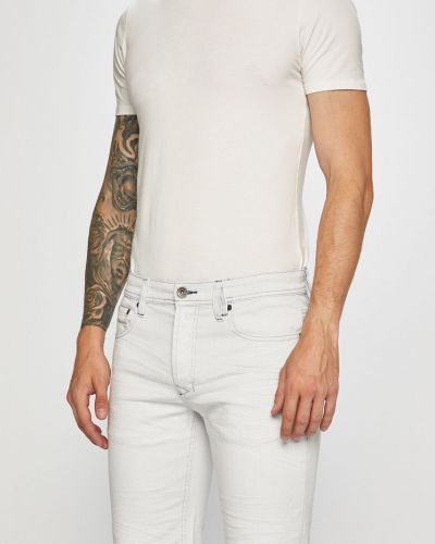 Джинсовые шорты с карманами однотонные Desigual