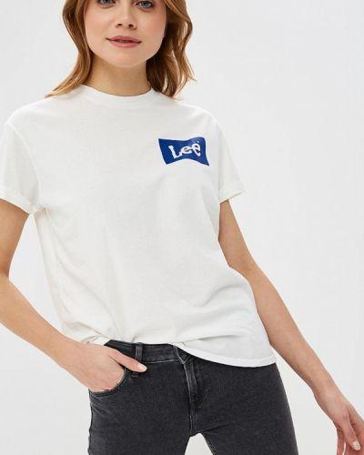 Белая футболка 2019 Lee