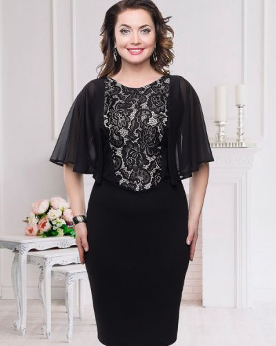 Вечернее платье классическое из вискозы Charutti