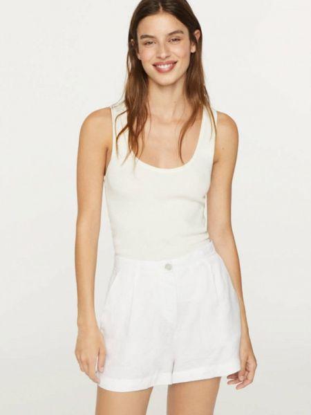 Белые повседневные шорты Oysho