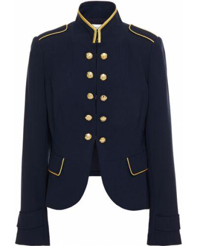 Синий пиджак с карманами на крючках Derek Lam 10 Crosby