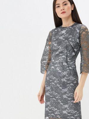 Вечернее платье весеннее серое Madam T