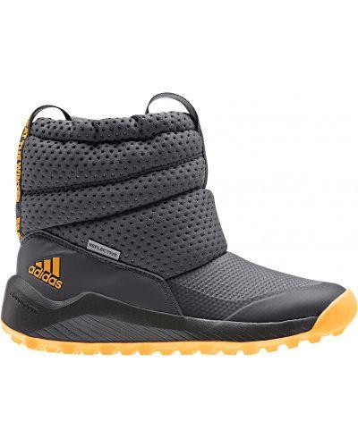 Ботинки серые оранжевый Adidas