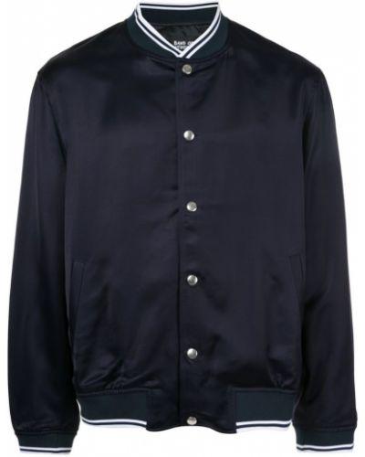 Синяя куртка с манжетами с вышивкой Band Of Outsiders
