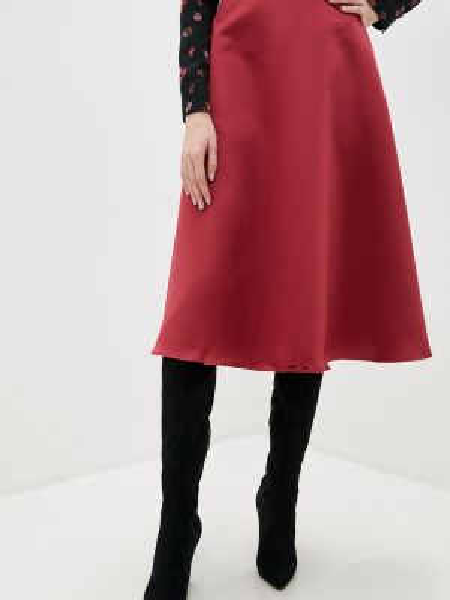 Юбка - красная Sultanna Frantsuzova
