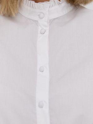Хлопковая рубашка The Kooples