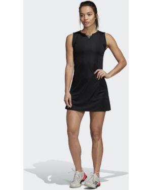 Платье теннисное со складками Adidas