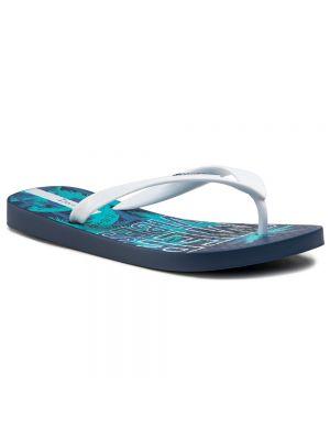 Białe sandały japonki Ipanema