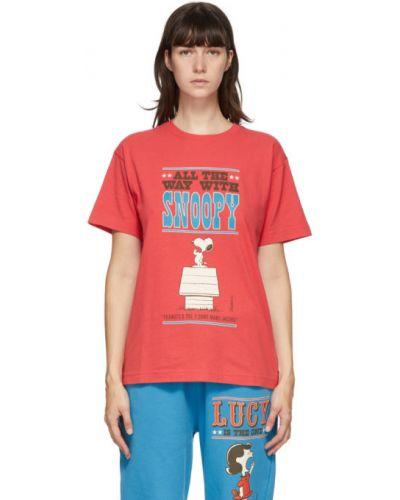 Хлопковая рубашка с короткими рукавами с воротником Marc Jacobs