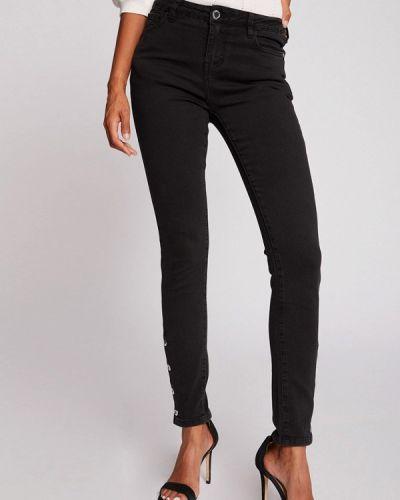Черные джинсы-скинни узкого кроя Morgan