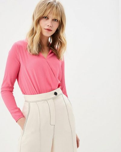 Розовое боди блуза Zuiki