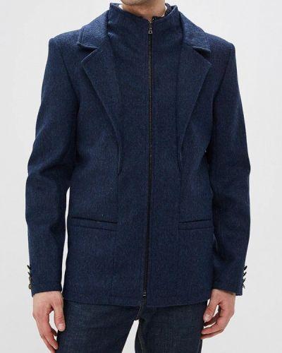 Пальто синий Elijah & Sims