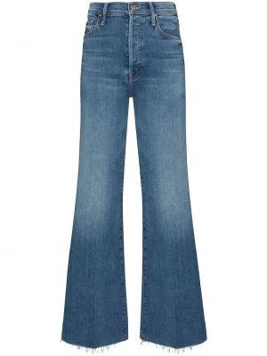 Хлопковые джинсы с карманами классические на шпильке Mother