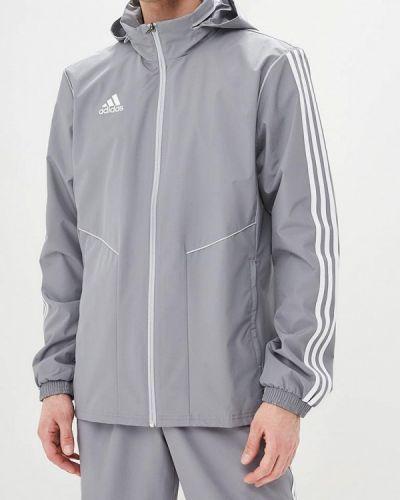 Ветровка серая Adidas